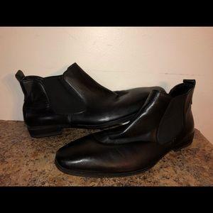 Mens size 12 Steve Madden dress shoes boots